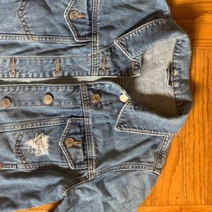 Top shop denim jacket